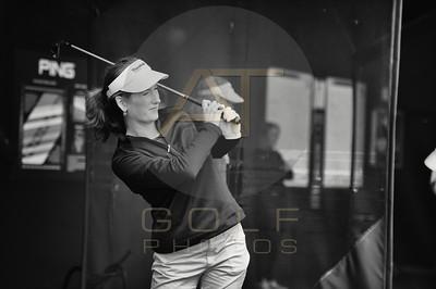 Ladies Golf - B&W