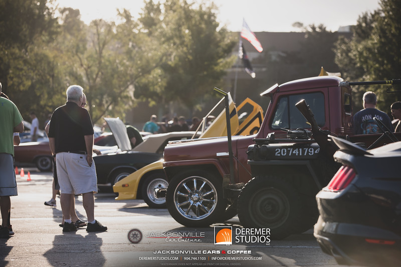 2019 09 Jax Car Culture - Cars and Coffee 002A - Deremer Studios LLC