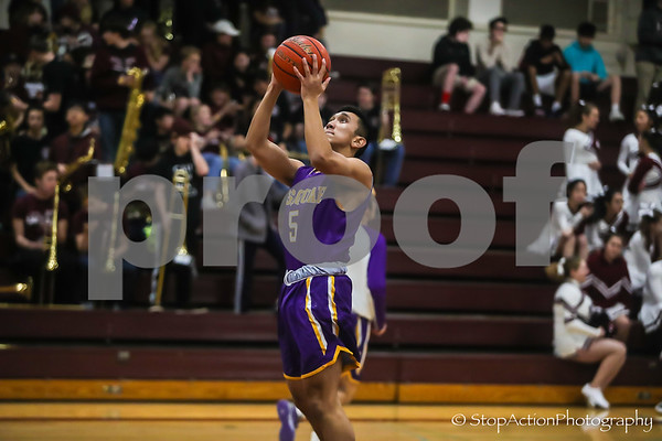 2018-11-30 Issaquah Boys Basketball vs Mercer Island