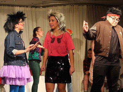 Totally Tubular 80s Performances at the HS Play