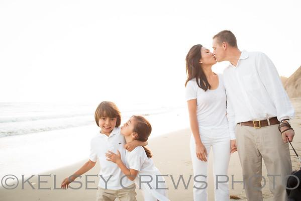 Dunbar Santa Barbara Beach Family Photography
