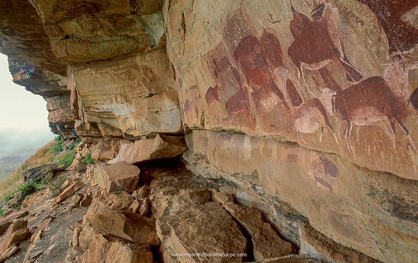 San or Bushman Rock Art