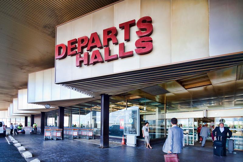 Departure gate, Orly Airport, Paris, France