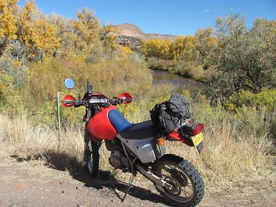 Jemez Mtns. - Gilman-O'Neil Landing-Ojito Landing DS Ride & Ojito Canyon-Cebolla Can. Hike   10-22-12