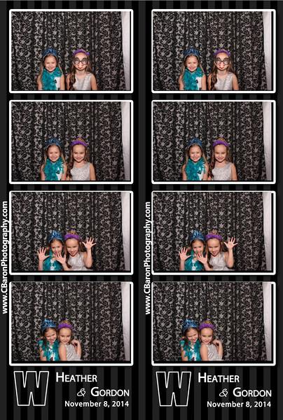 Heather + Gordon Swanky Photobooth