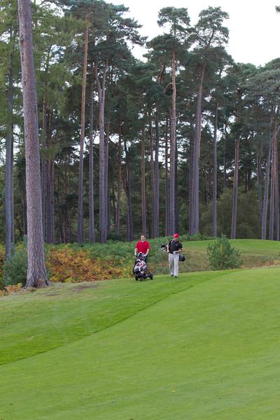 ITM & Europcar Golf Day - Woburn Golf Course, 12th October 2012