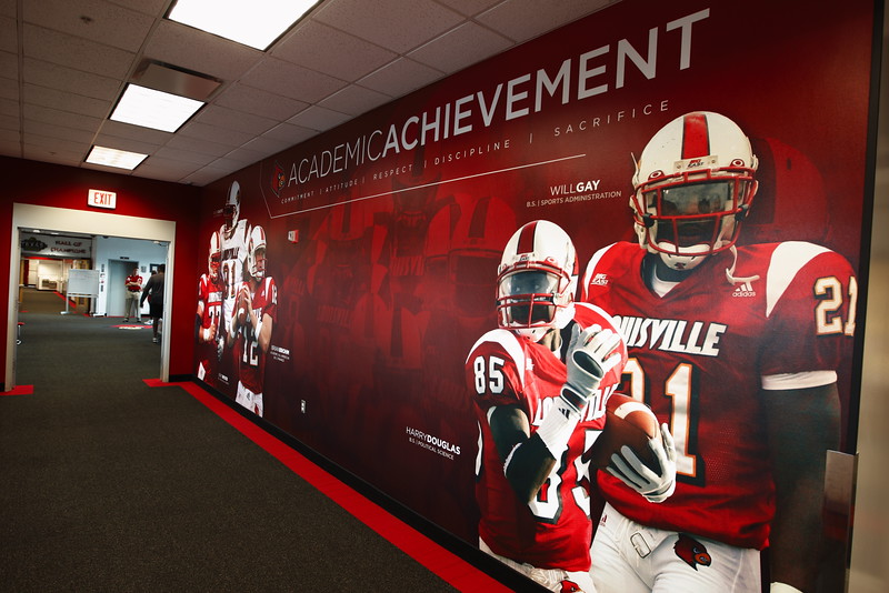 Football Academic Achievement wall