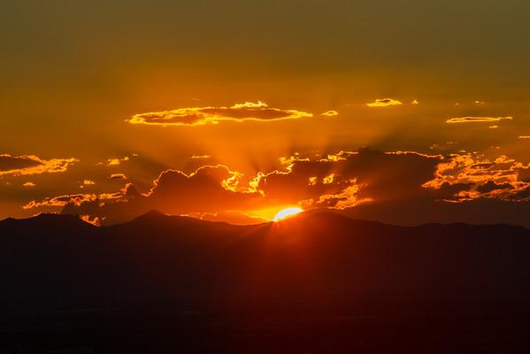 Sunset 10-1 Storm 10-2-16