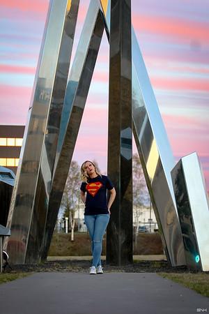 Hayley SuperGirl Photoshoot