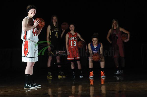 Girls Basketball All-Area