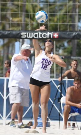 TCU vs FSU at South Beach (03/30/2018)