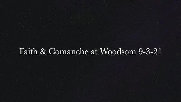 Faith & Comanche at Woodsom 9-3-21