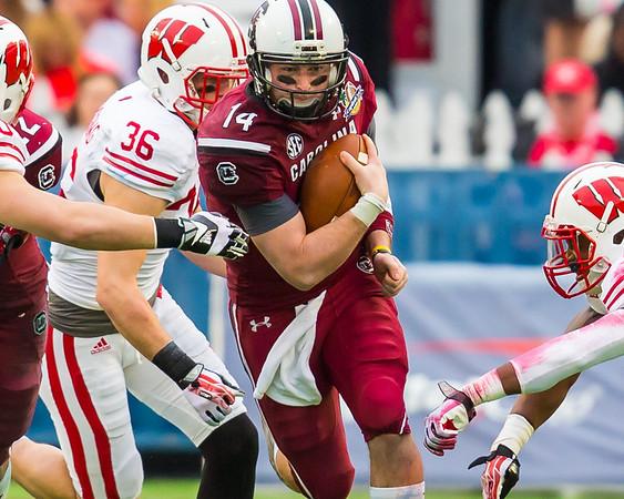 2014 Capital One Bowl - So Carolina/Wisconsin