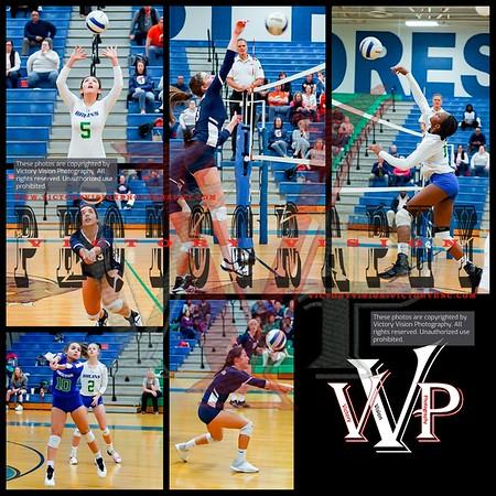 West Springfield @ Forest Park Varsity Girls Volleyball 10-30-18 | VHSL Regional First Round  Playoffs