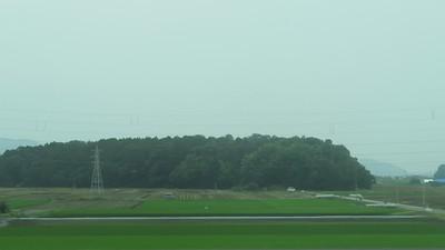 The Shinkansen between Osaka and Kyoto