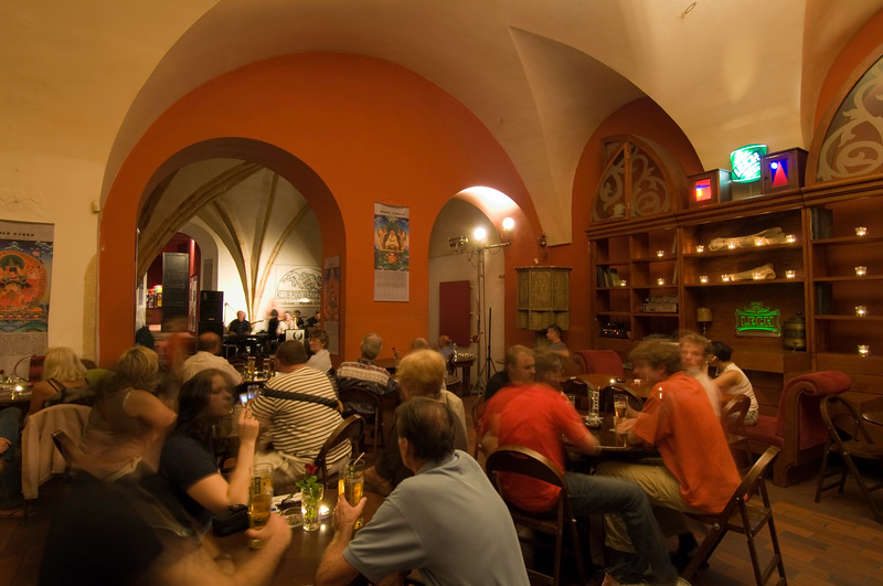 """Poland, Cracow, """" Klub Pod Jaszczurami """" is an old student venue offering jazz and other music performances"""