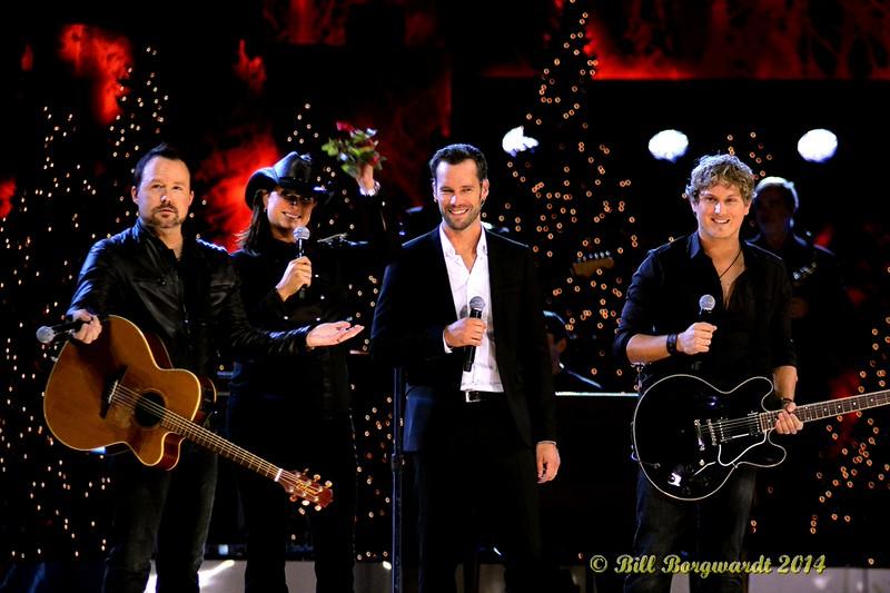 Derric Ruttan, Terri Clark, Chad Brownlee, Jason Blaine - CCMA Holiday Special