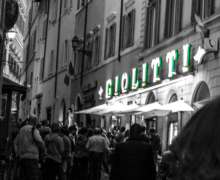 Giolitti for Gelato
