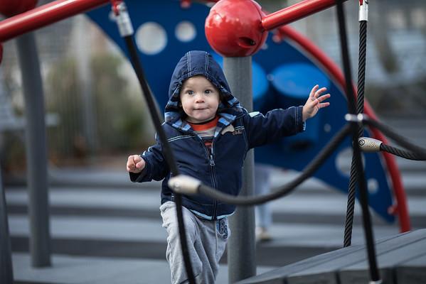 Little Dude in Blue, Gantry Park
