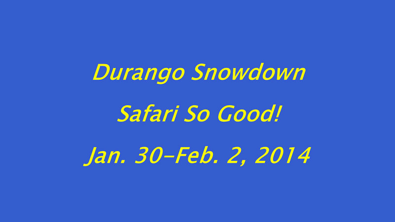 Durango Snowdown 2014