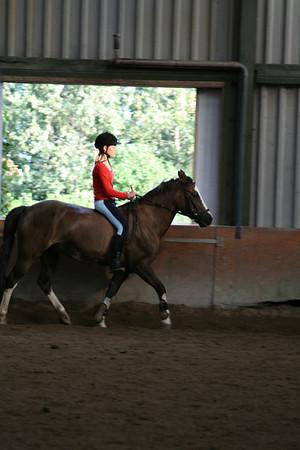 Paardrijden zonder zadel 1 september 08 foto's Jaap van Leeuwen