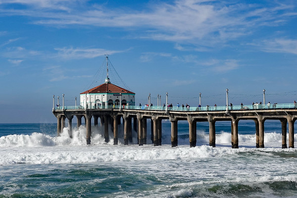Manhattan Beach Pier, 12/18/19