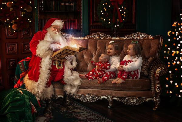 Jackson Santa Photos