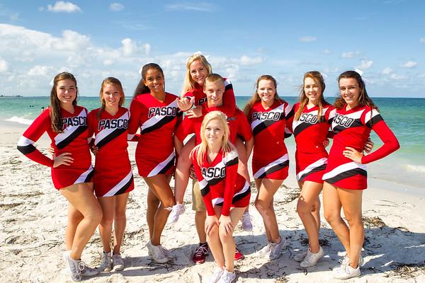 Pasco Cheerleader 2014 Beach