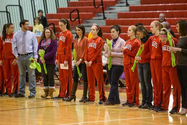 2013 ERHS Varsity Girls vs Riverheads