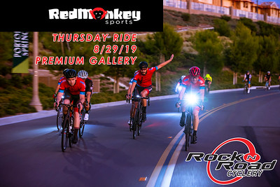PREMIUM- 8/29/19 RED MONKEY & ROCK N ROAD CYCLERY RIDE