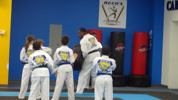 Belt testing - Reeds Karate