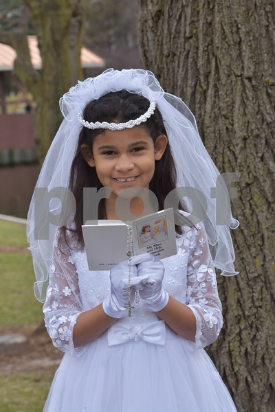Aliyah's Communion Pics