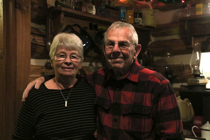 Richard Morris and his wife, Sharon at the Bennett Cabin in Point Pleasant Boro, NJ on 1/9/19.[DANIELLA HEMINGHAUS   THE OCEAN STAR]