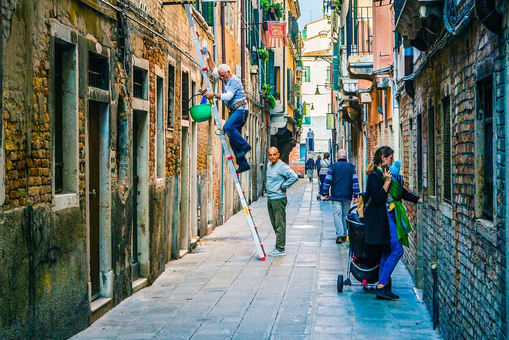 意大利威尼斯,大街小巷面面观