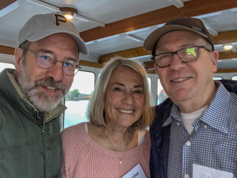 L-R: John Schiller, Denise Schiller, Jimmy Berns