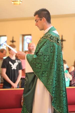 Father Jaime Zarse Installation