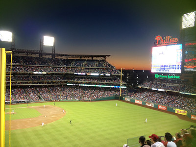 Junior Arts Trip to the Phillies