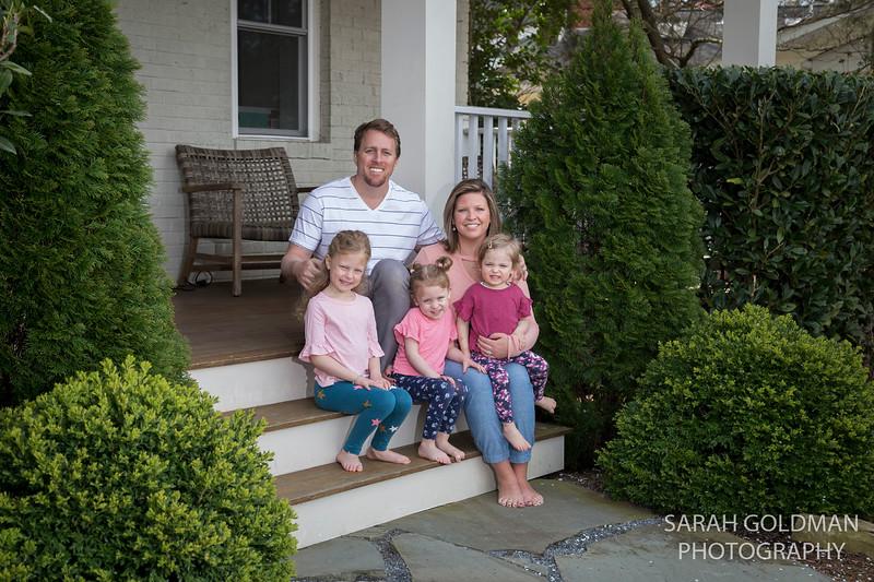 Front Steps Family Portrait