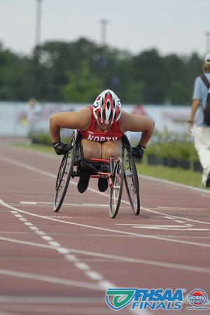 Class 3A - Running Event Finals - Girls 800m Wheelchair