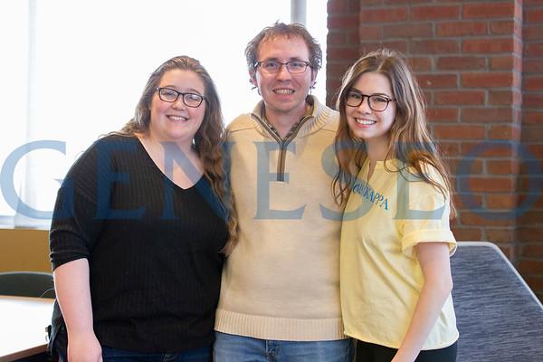 McNair Scholars Reception (Photos by Annalee Bainnson)