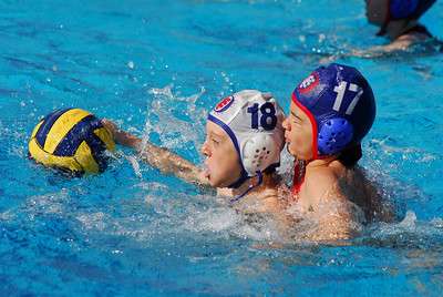 Santa Barbara Winter Youth Cup - Santa Barbara Water Polo Club 6th Grade Boys vs Northwood Coed 1/25/09. Final score 11 to 9. SBWPC vs NWPC. Photos by Allen Lorentzen.