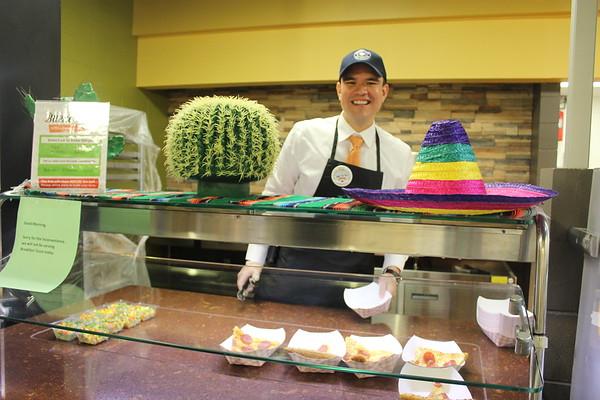 Mr. Reyes Serving Lunch
