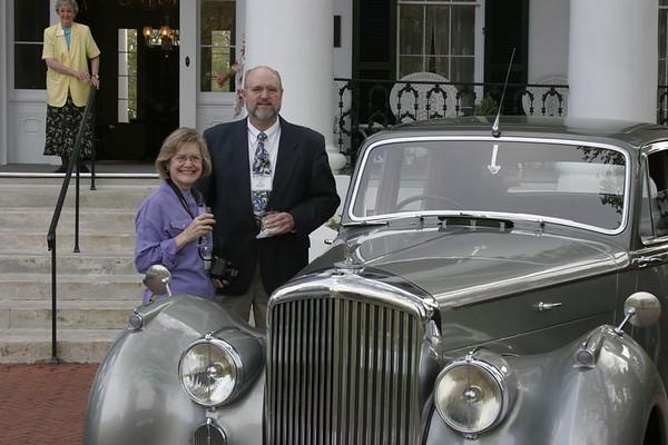 Terry & Christine Meredith<p>1949 Mark VI