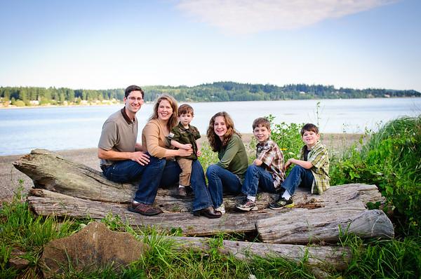 Largey family Aug 2010
