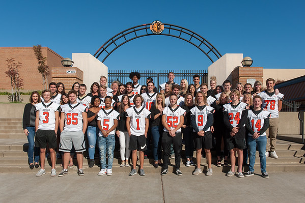 RHS Varsity Football Seniors and Moms 11-9-19