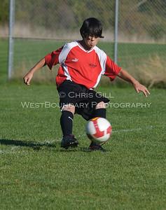 Orcas Middle School Falcons Soccer 2010