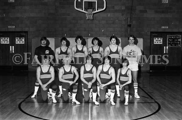 1979-1980 Fairfield Wrestling Team