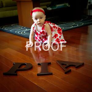 Pia's 1st Birthday