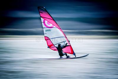 Windsurf session en Canche 27/03/2021