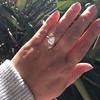2.01ct Antique Pear Shape Diamond GIA G VS1 19